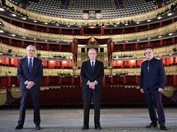 El Teatro Real, Mejor Teatro de Ópera en los International Opera Awards