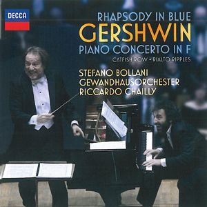 GERSHWIN: Rhapsody in Blue. Catfish Row. Concierto en Fa. Rialto Ripples.