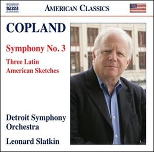 COPLAND: Sinfonía n. 3. Three Latin American Sketches.