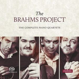 THE BRAHMS PROJECT. Los Cuartetos con piano de BRAHMS.