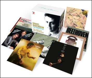 DANIEL BARENBOIM. A RETROSPECTIVE. THE COMPLETE SONY RECORDINGS.