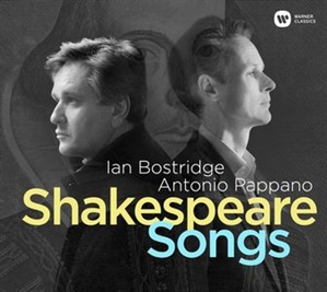 BOSTRIDGE. SHAKESPEARE SONGS. Canciones de FINZI, BRITTEN, TIPPETT, STRAVINSKY, KORNGOLD, etc.
