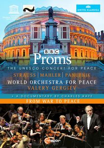 WORLD ORCHESTRA FOR PEACE. PROMS 2014. Obras de MAHLER, PANUFNIK y R. STRAUSS.